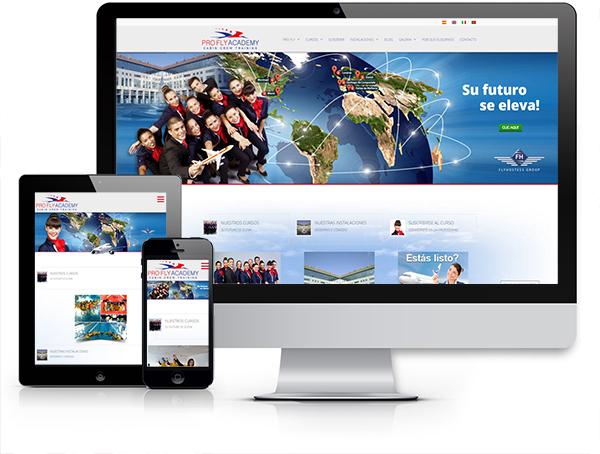 """Nuovo nome, immagine e sito web per la società spagnola. Da """"Flyhostess"""" a """"ProFly Accademy"""""""
