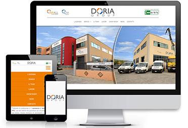 Online il nuovo sito per Doria Group