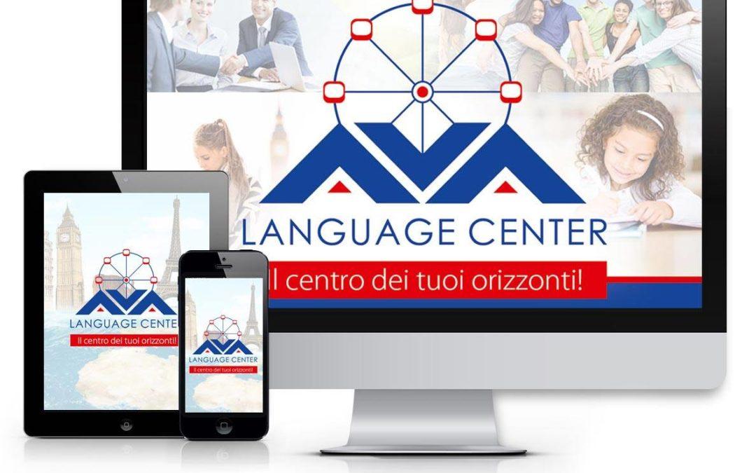 Nuova immagine istituzionale, web e social per il centro linguistico AVA LANGUAGE CENTER